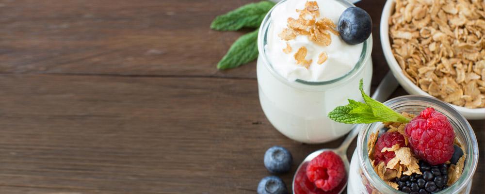 Les  yaourts Danone